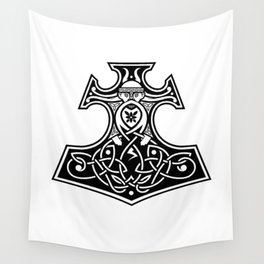 Thor's hammer Wall Tapestry