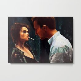 You're the worst thing that's ever happened to me Metal Print