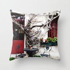 Lovely Little House Throw Pillow