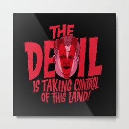 The Devil and Lee Bright  Metal Print