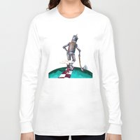 kansas Long Sleeve T-shirts featuring We're not in Kansas anymore by Timone