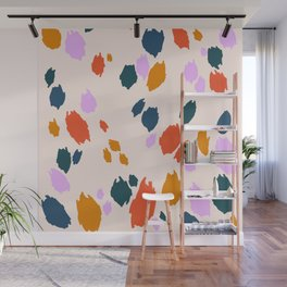 Rainbow Animal Print  Wall Mural
