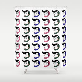 Color of the Day Shower Curtain