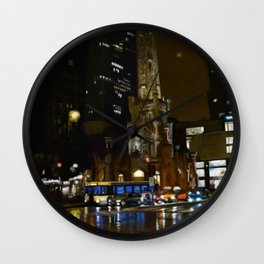 Nitelife - Chicago Wall Clock