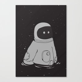 Drowning in cosmo Canvas Print