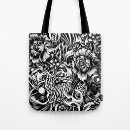 An underwater dream, Japanese koi art Tote Bag