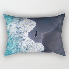Beautiful Landscape Beach Rectangular Pillow