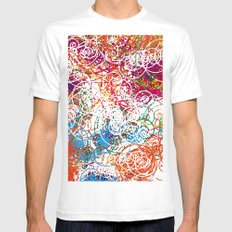 Joe Kay - Soul Division SMALL White Mens Fitted Tee