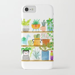 plant shelf iPhone Case