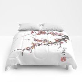 Cherry Blossom One Comforters