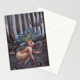 Shrieking Mandrake Stationery Cards