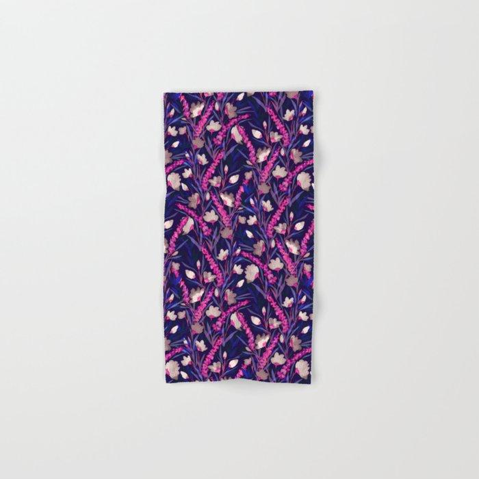 Libertine Midnight Hand & Bath Towel
