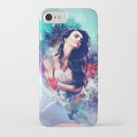 daria iPhone & iPod Cases featuring Daria by MariAngel
