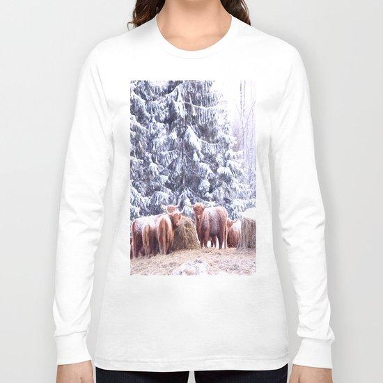 West Highland Cattle Long Sleeve T-shirt