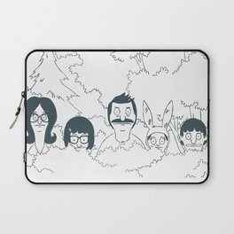 Belchers behind bushes Laptop Sleeve