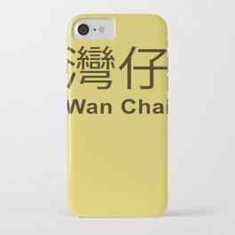 Wan Chai Hong Kong iPhone Case