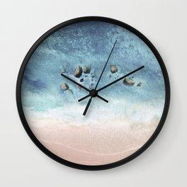Blue Sea IV Wall Clock