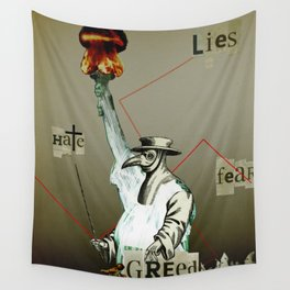 The truth is dead 9 Wall Tapestry