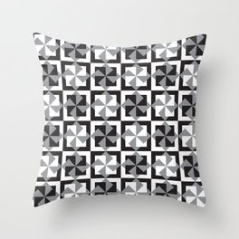 Abstract background - geometric seamless pattern Throw Pillow