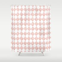 pixel Shower Curtains featuring Pixel by Tayler Willcox