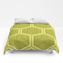 HEXAGON NO. 3 Comforters