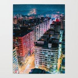 YongHe Cyberpunk Poster