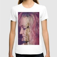 women T-shirts featuring women by Sowthistle