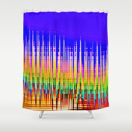 WHITESPACE/// Shower Curtain