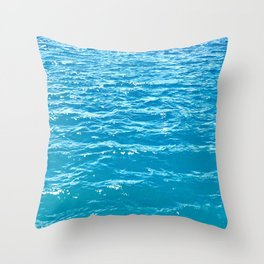 Waves for Days Throw Pillow