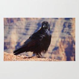Black Crow at the Grand Canyon Rug