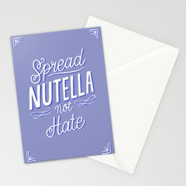Nutella Love Stationery Cards