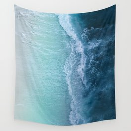 Turquoise Sea Wall Tapestry