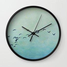 Journey begins Wall Clock