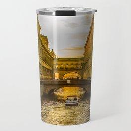 Swan Canal in St. Petersburg Travel Mug