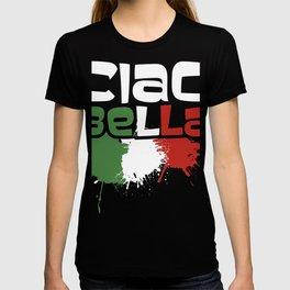 Ciao Bella Italy Flag product, Italian Tee print T-shirt