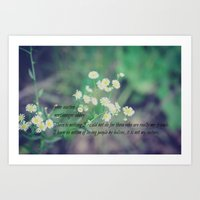 jane austen Art Prints featuring Friends Jane Austen by KimberosePhotography