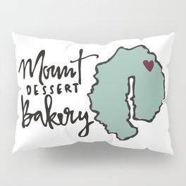 Mount Dessert Bakery Logo Pillow Sham