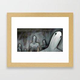 Silent Shout Framed Art Print