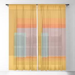 Glass Sheer Curtain