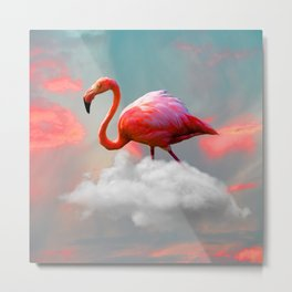 My Home up to the Clouds Metal Print