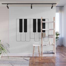 Piano keys. Playing Piano #society6 #decor #buyart #artprint Wall Mural