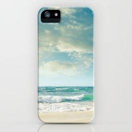 beach love tropical island paradise iPhone Case