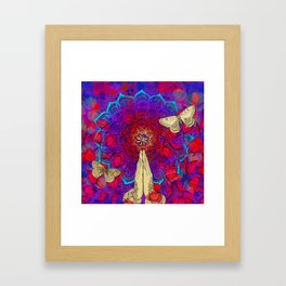 Feel it still Framed Art Print