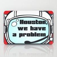 houston iPad Cases featuring Houston Problem by TheLaptopSkinVault