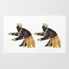 Sloth the Hawaiian Dancer Rug