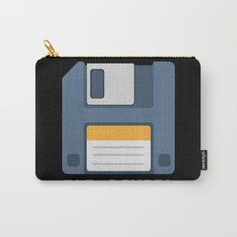 Old School Computer Floppy Diskette Carry-All Pouch