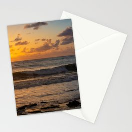 Sunrise beach Stationery Cards