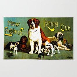 New England Dog Show 1890 Rug