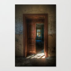 From light to dark Canvas Print
