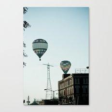 Balloon City Canvas Print